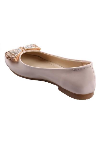 Vetta Girls Pudra Kız Çocuk Babet Ayakkabı