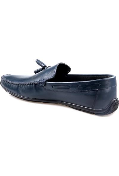 Fabiano Erkek Püsküllü Tımbırlent Deri Günlük Ayakkabı