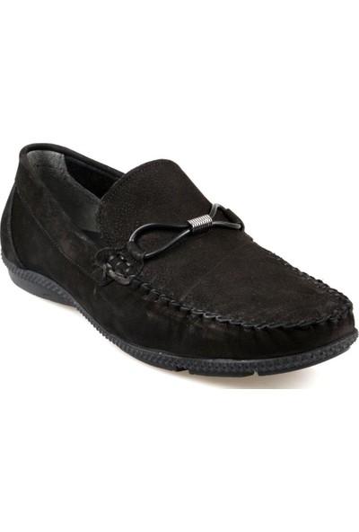 Fabiano Erkek Tımbırlent Siyah Günlük Ayakkabı