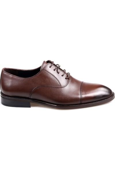 James & Franco 16548 Kahve Klasik Erkek Deri Ayakkabı