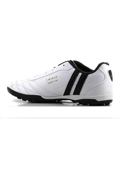 Twingo 134 Erkek Beyaz Halı Saha Futbol Ayakkabı