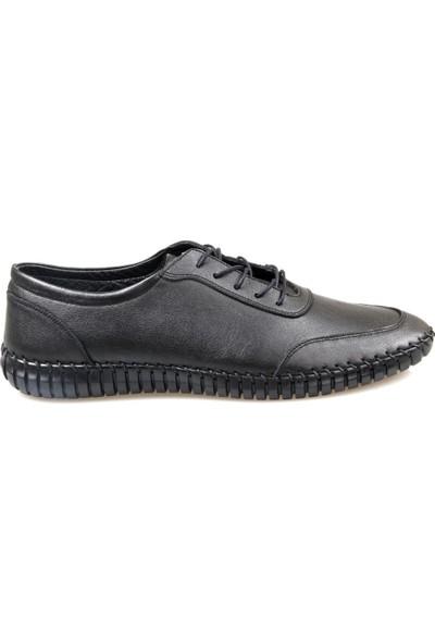 Fabıano Erkek Siyah Günlük Ayakkabı