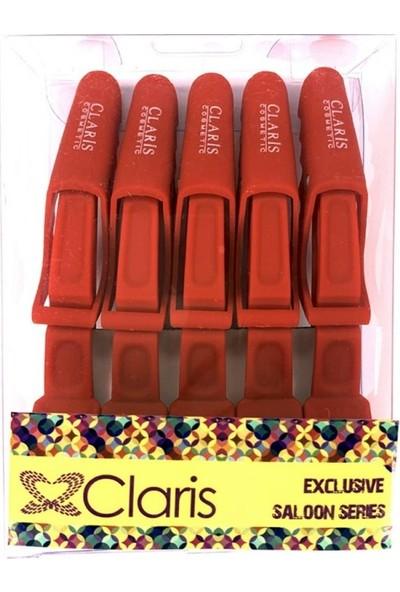 Claris Yarasa Karbon Pens 5'li Kırmızı