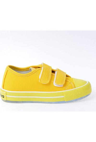 Kiko Pnd 201C150 Keten Işıklı Kız/Erkek Çocuk Ayakkabı Sarı