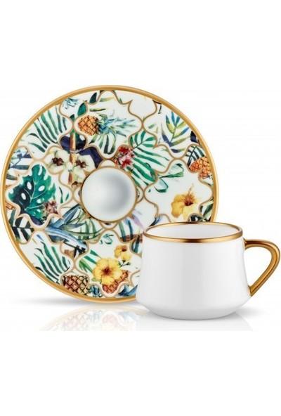 Sufi Amazon Brasil Türk Kahvesi Fincan Takımı 6'lı