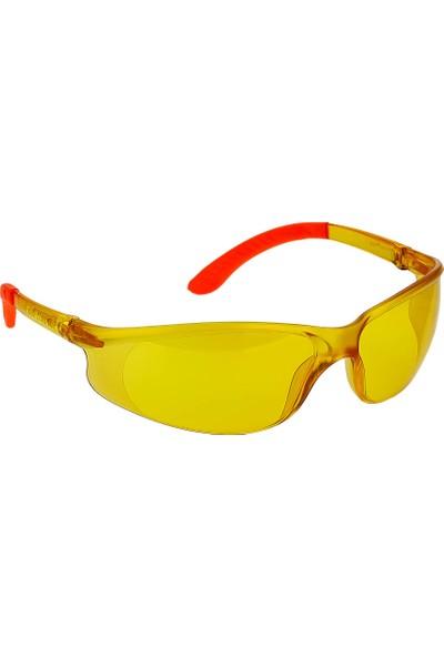 Roney Koruyucu Iş Gözlüğü Sarı 986021