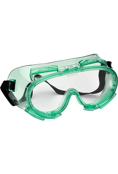 Viola Valente Büyük Koruyucu Iş Gözlüğü Buğu Yapmaz Şeffaf Cam VV551AF