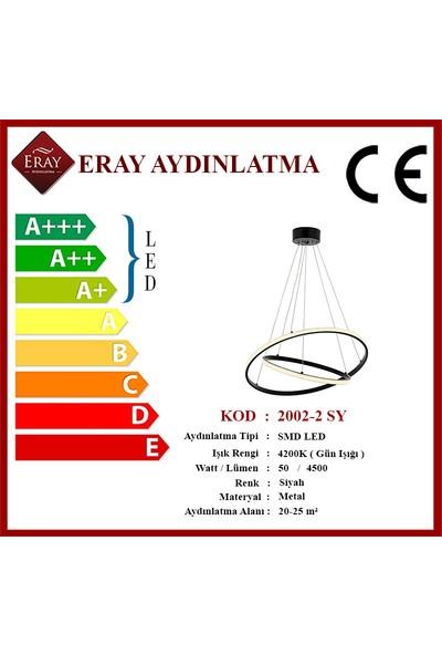 Eray Aydınlatma 2002-2S LED Siyah Avize