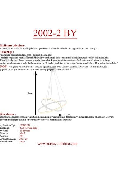 Eray Aydınlatma 2002-2 By LED Beyaz Avize