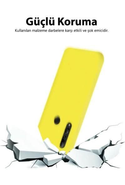 Sarı Store Oppo A5 2020 Kılıf İçi Kadife Lansman Kapak Sarı