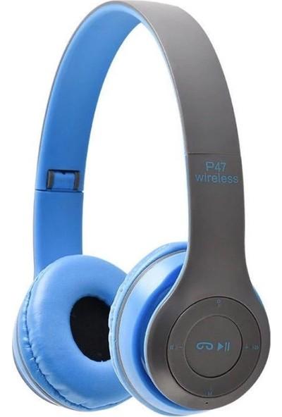 Rosstech P47 5.0 + EDR Bluetooth Kablosuz Kulaküstü Kulaklık