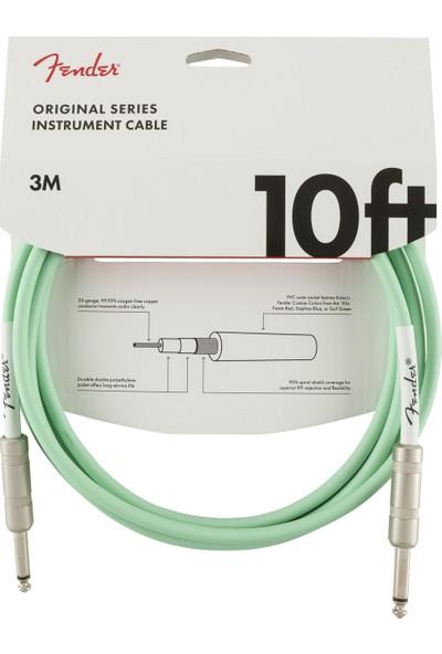 Fender Original Series Instrument Cables 3 Metre - Surf Green Enstrüman Kablosu