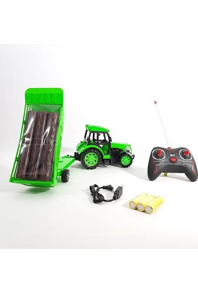 Can Oyuncak Uzaktan Kumandalı Römorklu Şarjlı Traktör Farm Agrimotor Series