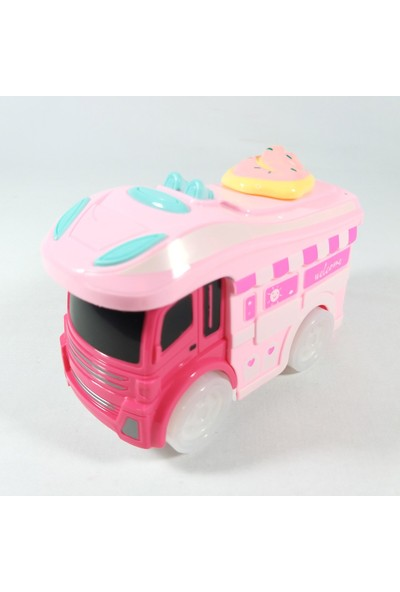 Beyazkuş Ticaret Dondurma Arabam Pilli Müzikli Işıklı