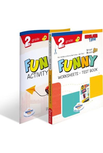 Öğretmen Evde Yayınları 2. Sınıf Funny Worksheets & Test / Activity Book