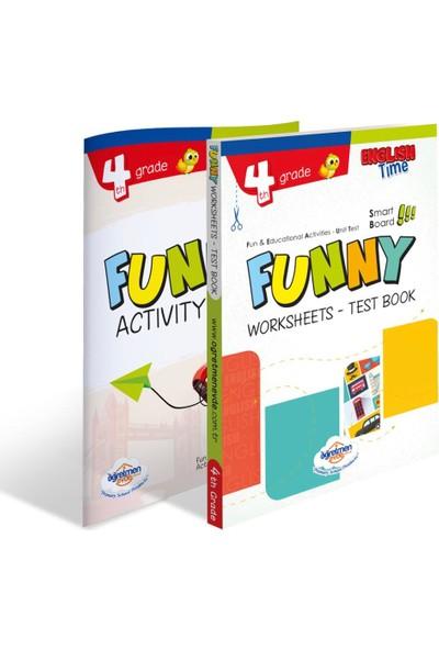 Öğretmen Evde Yayınları 4. Sınıf Funny Worksheets & Test / Activity Book
