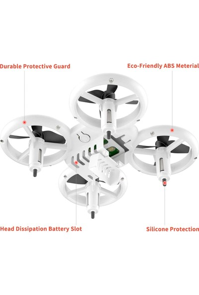 Gepettoys Shıny Smart Drone 2.4 Ghz Uzaktan Kumandalı Q8