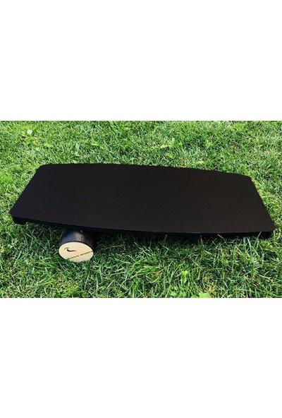 Woodie Denge Tahtası Carbon Black - Balance Board