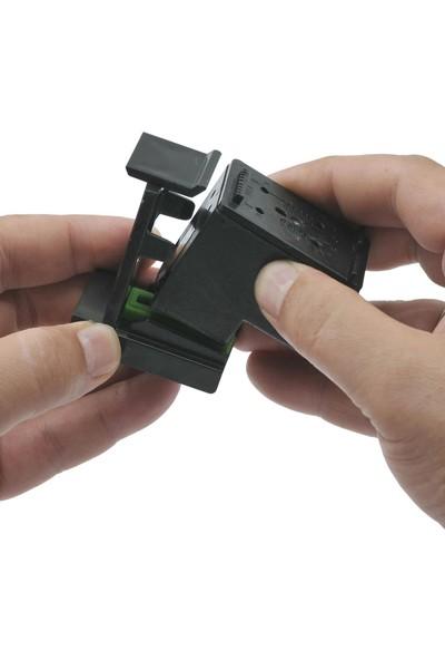 Ekoset Canon Bitmeyen Kartuş uyumlu Dolum seti 4x500ML Renkli ve Siyah