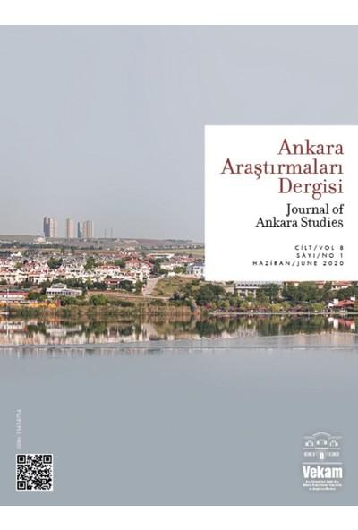 Ankara Araştırmaları Dergisi C8.S1