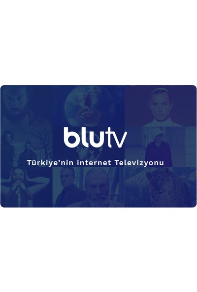 BluTV 12 Aylık Dijital Abonelik Kodu / E-pin