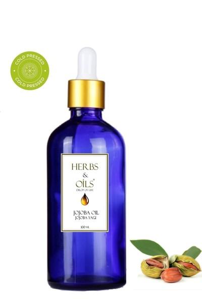 Herbs & Oils Jojoba Yağı 100 ml Soğuk Sıkım