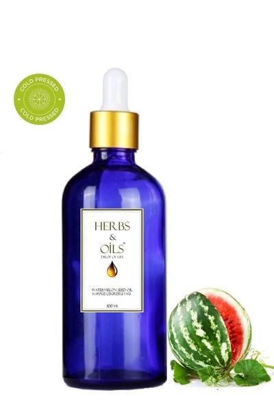 Herbs & Oils Karpuz Çekirdeği Yağı 100 ml Soğuk Sıkım