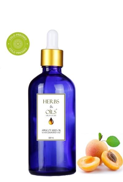 Herbs & Oils Kayısı Çekirdeği Yağı 100 ml Soğuk Sıkım