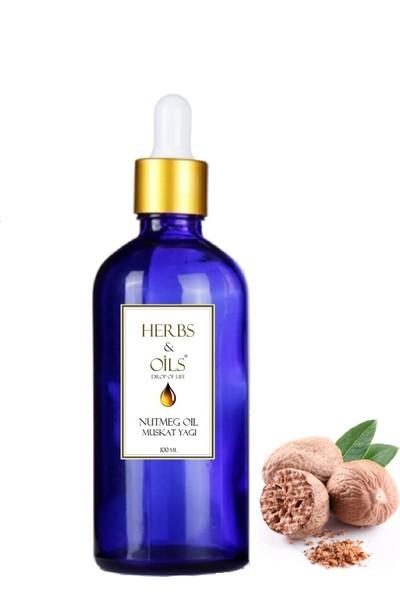 Herbs & Oils Mis Cevizi/Muskat Yağı 100 ml