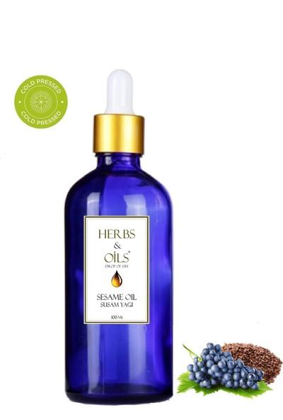 Herbs & Oils Üzüm Çekirdeği Yağı 100 ml Soğuk Sıkım