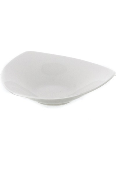 Ultraform Porselen Üçgen Tabak 12 x 12 cm