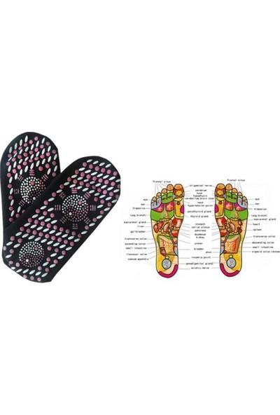Cyclists Cool Manyetik Terapi Turmalin Doğal Çorap