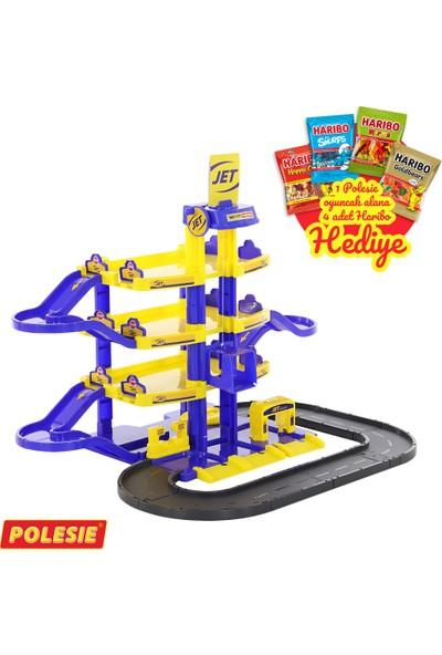 Polesie Park Jet Yol ile Dört Seviyeli + 4'lü Haribo X160 gr