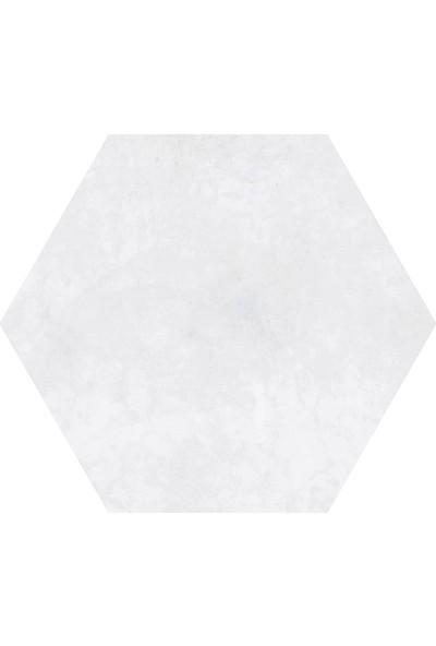 Codicer Florida Silver Hex 22 x 25 cm Mix Altıgen Seramik
