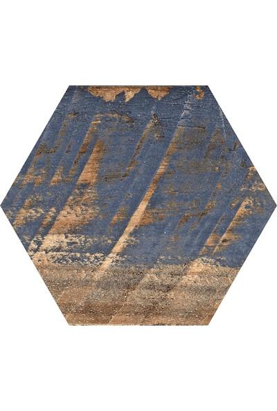 Codicer Gauguin Hex 22 x 25 cm Mix Altıgen Seramik