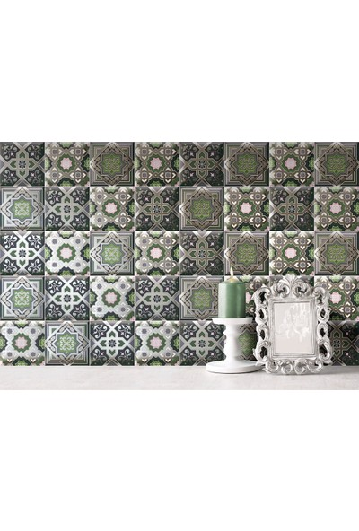 Mainzu Decor Zoco Green 15 x 15 Seramik