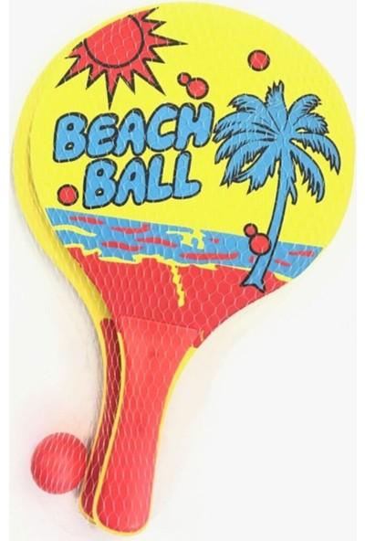 My Style ML-784 Sarı Plaj Tenis Seti