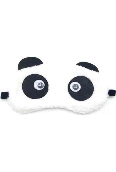 Attach Düz Peluş Panda Uyku Bandı