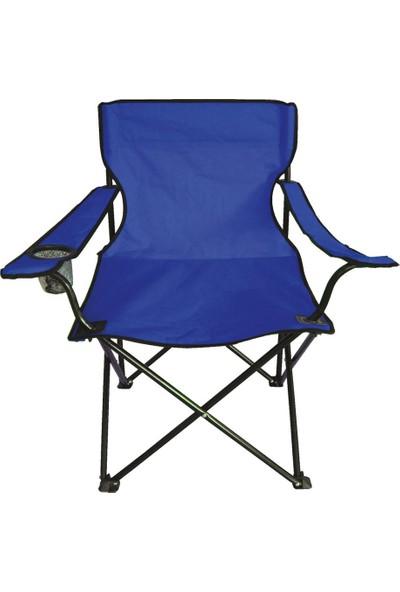 Cookbella Katlanır Kamp Plaj ve Balıkçı Sandalyesi Mavi