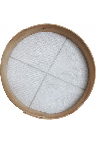 Tel Elek Kalbur Kum Eleği No:12 Delik Arası 2 mm Çap 40 cm