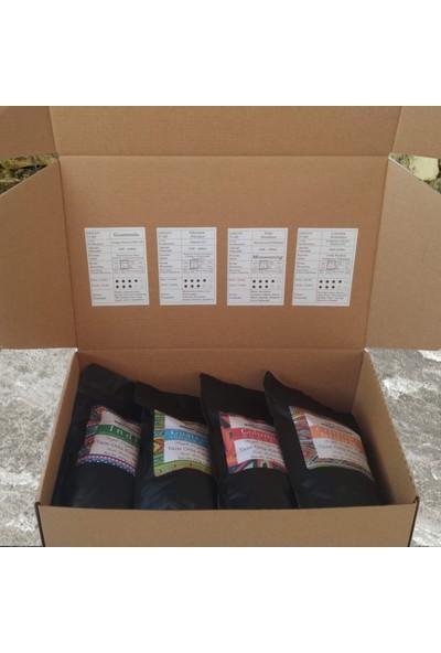 Profusion Coffee Taze Kavrulmuş Tanitim Cekirdek Kahve Hediye Kutusu 1 kg Çekirdek (Öğütülmemiş)