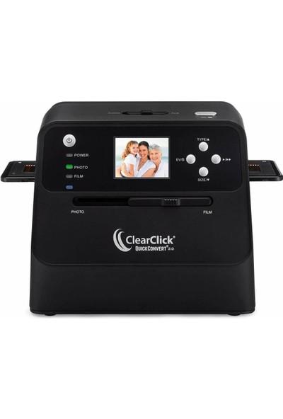 Clearclick 14 MP Quickconvert 2.0 Fotoğraf, Slayt ve Negatif Tarayıcı