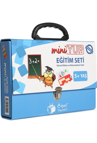 miniYUP 5+ Yaş Eğitim Seti (10 kitapçık + 1 kontrol kutusu)