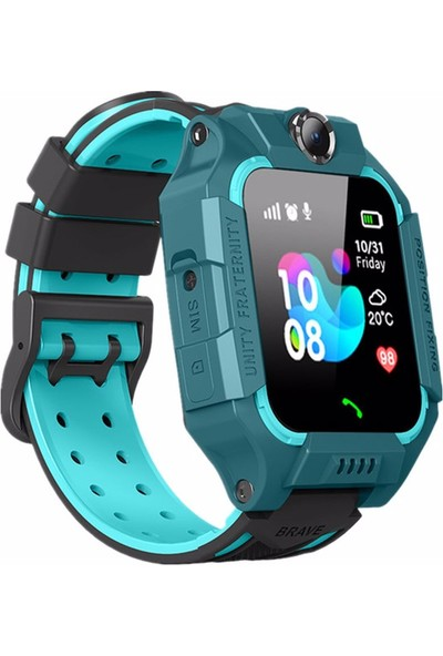Onkatech Q500/2020 Akıllı Çocuk Saati - Yeşil