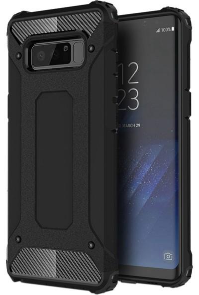AksesuarLab Samsung Galaxy Note 8 Kılıf - Tank Kılıf - Silikon Kılıf