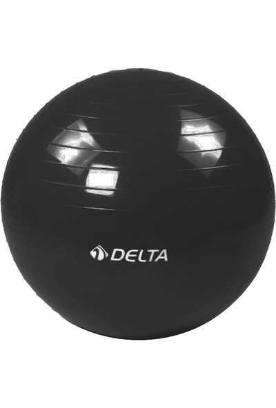Delta 65 cm Dura-Strong Deluxe Siyah Pilates Topu
