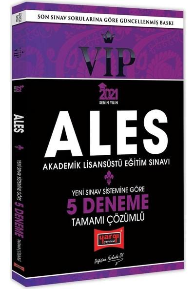 Yargı Yayınevi ALES 2021 VIP Yeni Sınav Sistemine Göre Tamamı Çözümlü 5 Deneme
