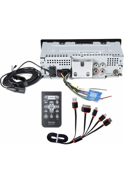 Pioneer MVH-X390BT Dahili Bluetoothlu Dijital Ortam Alıcısı (Yurt Dışından)