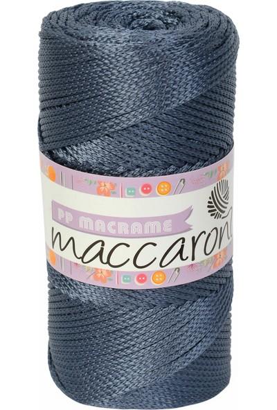 Maccaroni Polyester Makrome Leke Tutmaz - 200 gr -230 m -2 mm