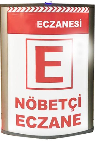 Bayz Çakarlı Lamba Portatif Nöbetçi Eczane Dubası - Işıklı Tabela